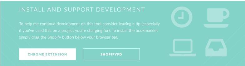 Screenshot of Installing Shopifyfd chrome extension