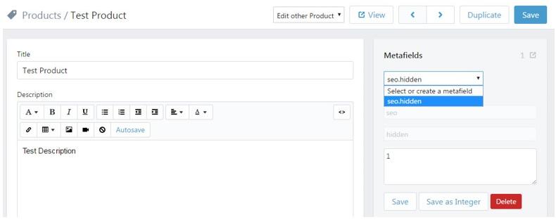 Shopifyfd remove value screenshot